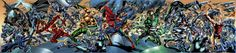 Bryan Hitch's Variant Covers for JUSTICE LEAGUE OF AMERICA 1 Revealed - Comic Vine