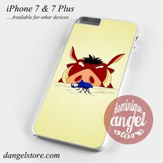 Pumba Lion King Phone Case for iPhone 7 and iPhone 7 Plus