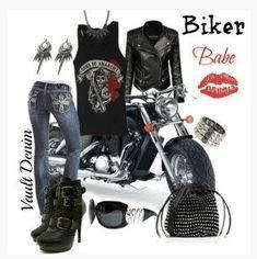 Custom Motorcycle Parts & Accessories -  Excellent Customer Service - Beautiful Ladies - Voodoo Gear - www.voodoocyclehouse.com