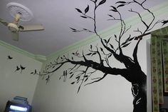 Tree+On+My+Wall++•++Make+wallpaper+/+a+wall+painting