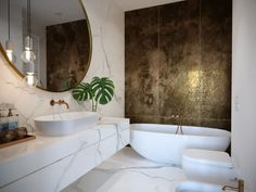 A collection of gorgeous bathroom home design and decorating pins. I really hope this board inspires you to definitely make your dream bathroom. Best Bathroom Designs, Bathroom Design Luxury, Modern Luxury Bathroom, Bad Inspiration, Bathroom Inspiration, Bathroom Faucets, Small Bathroom, Master Bathroom, Tadelakt