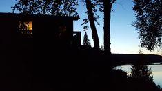Chalet à la pénombre - null Celestial, Sunset, Outdoor, Photography, Outdoors, Sunsets, Outdoor Games