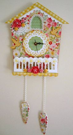 Beautiful Cuckoo Clock by A Little Birdie Told Me