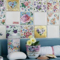 Patchwork Vintage Tiles from Welbeck Tiles