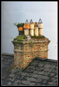 Chimney Pots...Galway, Ireland
