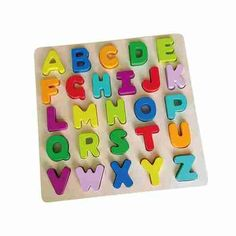 Chunky ABC Puzzle