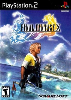 Week 10 - Final Fantasy X - Game Art Sun - Cover Art