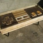Nintendo NES Controller Coffee Table- for the man cave