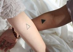 15 Couple Tattoos That Are Cooler Than Wedding Rings via Brit + Co