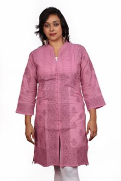 Ethnic exclusive designer Lucknow Chikan hand by indiankala4u, $89.99