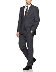 """Designed for optimal comfort and enduring style, this charcoal slim-fit suit from Vince Camuto features wrinkle-resistant stretch fabric for added precision and mobility.       Famous Words of Inspiration...""""I don't think meals have any business being deductible. I'm for...  More details at https://jackets-lovers.bestselleroutlets.com/mens-jackets-coats/suits-sport-coats/suits/product-review-for-vince-camuto-mens-slim-fit-charcoal-2-piece-suit/"""