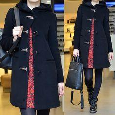 : Пальто Emporio Armani. Платье M Missoni. Рюкзак DKNY. Обувь Le Silla.