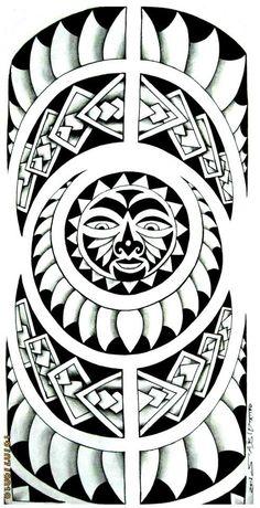 tatouage polyn sien motif dessin tatouage idee tatouage pinterest tatouages polyn siens. Black Bedroom Furniture Sets. Home Design Ideas