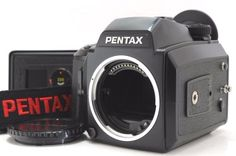 【Mint】Pentax 645N Meduum Format SLR Camera with 120/220 Filmback from Japan 433A #PENTAX