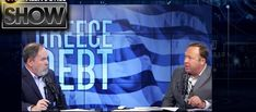 On the Monday, July 13 edition of the Alex Jones Show, Greece accepts Eurozone bailout terms, surrendering much of its sovereignty and signing onto a massive. World Government, Alex Jones, Priest, First World, Music, Youtube, Fictional Characters, Banks, Musica