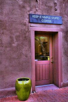Coffee shop in Albuquerque, New Mexico
