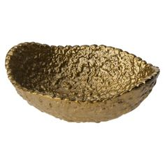 Nate Berkus Pebbled Bowl - Brass Finish $7.99