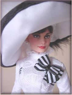 From Barbie to Audrey!
