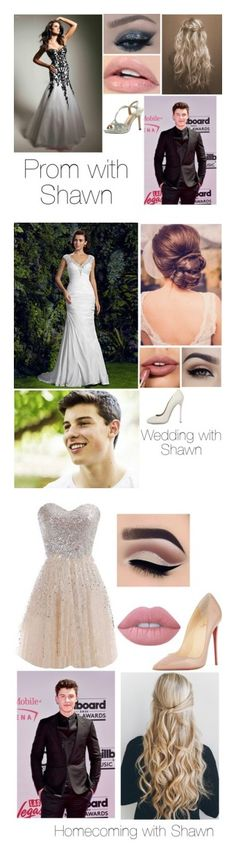 """""""Shawn Mendes"""" by alyssanichole1021 ❤ liked on Polyvore featuring De Blossom, Balenciaga, Episode, Dsquared2, Lime Crime and Christian Louboutin"""