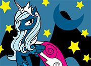 Princesa Luna Coloring MLP