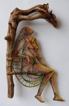 Ágnes Herczeg, Lace & wood