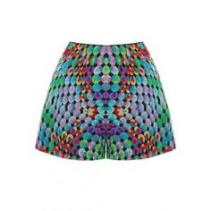 Jewelry Printed Shorts | DGRIE
