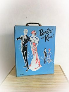 Vintage 1960s Barbie and Ken Doll Case 1963 by ArtDecoDame on Etsy, $28.00