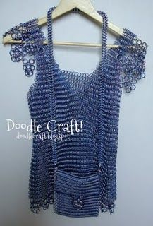 Would love to get good enough at maille to make this.