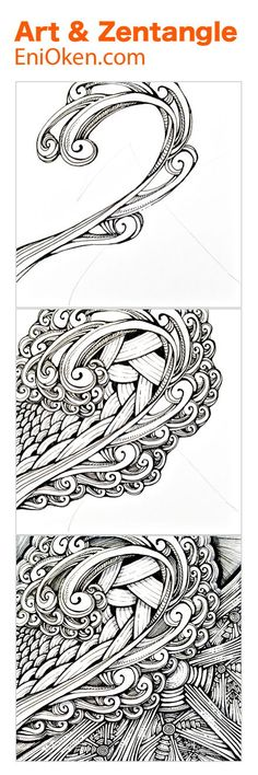 Discover Art, Fantasy and Zentangle • enioken.com