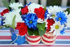 Image result for florist centerpieces 4th of july