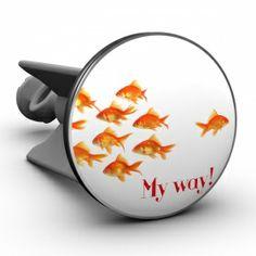 Waschbeckenstöpsel Goldfische My Way