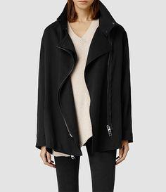 Womens Finn Jacket (Ink) - product_image_alt_text_1