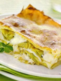Lasagne ai Carciofi: squisita idea per il pranzo di Pasqua! .