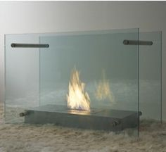 Screen Fireplace