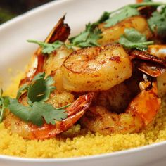 Learn to make Spiced Couscous with Shrimp and Chermoula. Read these easy to follow recipe instructions and enjoy Spiced Couscous with Shrimp and Chermoula today!