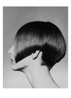 Published May 1965    Bob haircut by Vidal Sassoon.