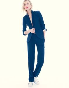 A wool suit is the perfect way to dress up no matter the season.