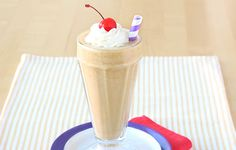 Peanut Butter Milkshake Time! (Calorie-Slashed Recipe)