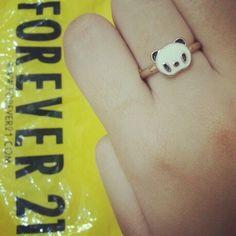 panda ring from F21