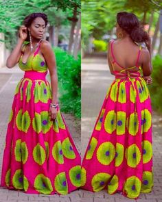 Ankara styles are here to stay, why not join the train and look stylish in different amazing styles. Check out our Maxi Ankara dresses look book African Fashion Ankara, African Inspired Fashion, African Print Fashion, Africa Fashion, Ethnic Fashion, Womens Fashion, Ghanaian Fashion, African Dresses For Women, African Print Dresses