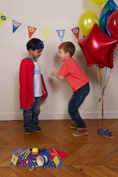 Maxi boîte Super-héros - Boîtes à thèmes/Anniversaire garçon - Sweet Party Day
