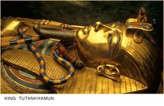 Kings and Queens Wallpaper: King Tut Sarcophagus