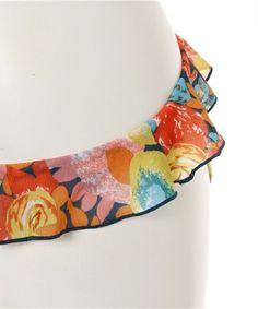 【【水着】花柄フリルバンドゥビキニ/ FLOWER PRINT FRILL BANDU BIKINI/made in JAPAN(日本製)】安全と信頼の日本製…