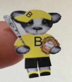 Planner stickers Baseball bear fit Erin Condren by sisscreations