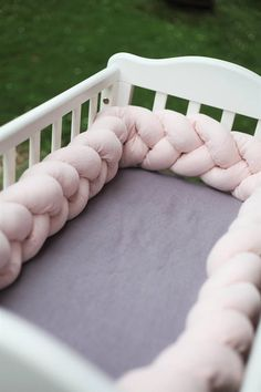Krippe Bettwäsche Babybettwäsche geflochtenen Krippe