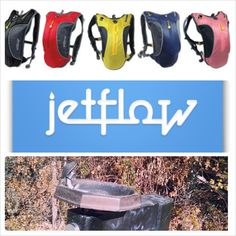 When they turn off the water fountains on your running/walking trail--stay hydrated with Jetflow hydration backpacks. www.jetflow.com