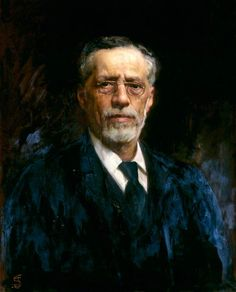 Portrait of Raphael Meldola, c.1915 by Solomon Joseph Solomon  (British 1860–1927)