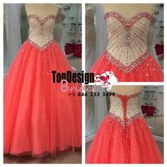 Wholesale 2017 Sweet 15 Dress Sweetheart Beaded Formal Party Prom Evening Ball Gown Long Quinceanera Dress