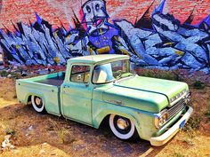 My 1959 ford f100 bagged