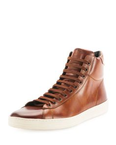 4a6deceac962a9 Russell Leather High-Top Sneaker